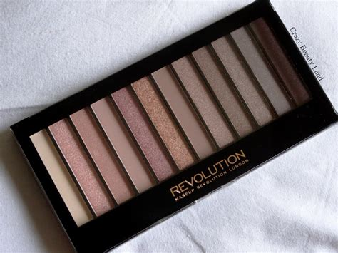 rose gold hues makeup revolution london iconic  redemption palette urban decay naked