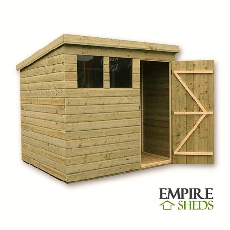 brokie 8x8 wood shed 08330 furniture