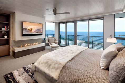 inspiring bedrooms  ocean view home interior