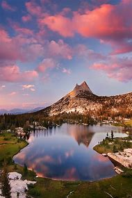 Upper Cathedral Lake Yosemite National Park …