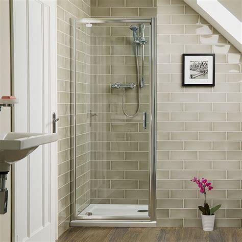 aqualine mm  pivot shower door