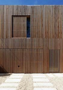 Bardage Bois Claire Voie : maison individuelle bardage bois claire voie par avenier ~ Dailycaller-alerts.com Idées de Décoration
