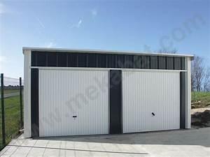 Garage Pour Voiture : mekabat abris carport et garage voiture metallique en kit ~ Voncanada.com Idées de Décoration