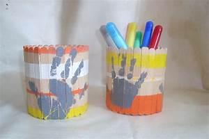 Pot A Crayon : pot crayons conserve b tonnets ~ Teatrodelosmanantiales.com Idées de Décoration