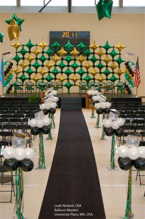Backdrop Ideas For School by Starpoint Decor Shapes In The School Colors Make A Great