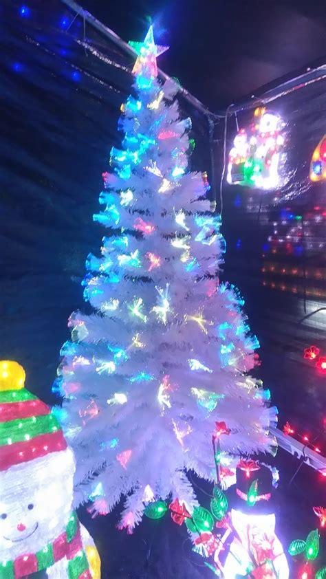 193 rbol navidad blanco fibra 211 ptica y led 2 10 metros
