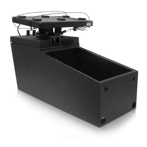 Jotto Desk Safety by Jotto Desk Ak 12 Console With Smooth Glide Computer Mount