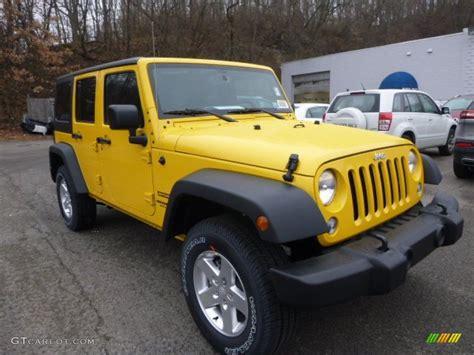 jeep yellow baja yellow 2015 jeep wrangler unlimited sport s 4x4