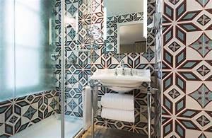 best salle de bain retro moderne images amazing house With salle de bain retro chic