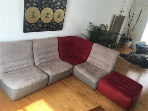 cuir center canapé canapé d 39 angle bi matière cuir center