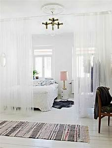 Vorhang Für Regal : 50 raumtrenner ideen und breiter raum so geht das ~ Michelbontemps.com Haus und Dekorationen