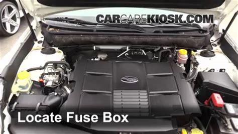 Subaru Outback Fuse Box Location Auto Wiring