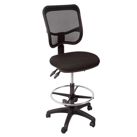 stradbroke promesh high back drafting chair fabric or