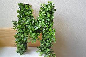 diy boxwood monogram letter factory direct craft blog With boxwood letters