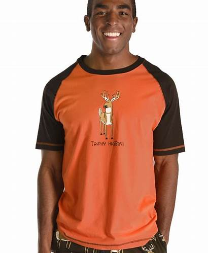 Trophy Husband Pj Deer Tee Lazyone Mens