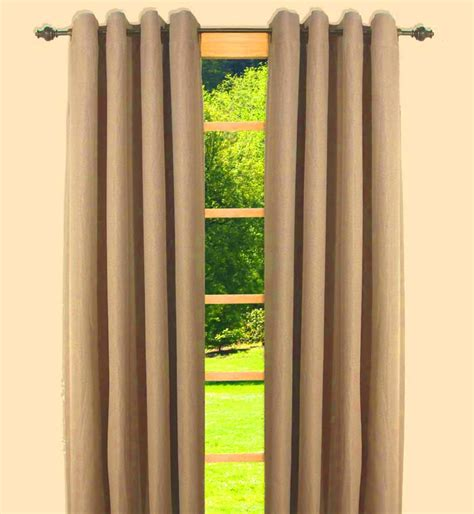 canvas black out insulated grommet panels