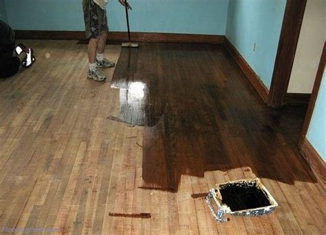 Restain Hardwood Floors Without Sanding by Refinishing 100 Yr White Pine Floor Subfloor Paint