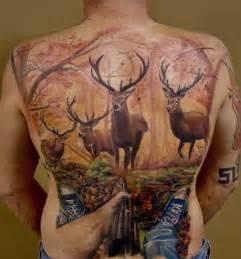 Deer Hunting Tattoos for Men