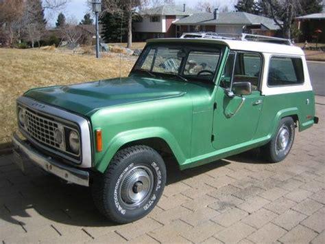 1973 jeep commando buy used 1973 jeepster commando in denver colorado