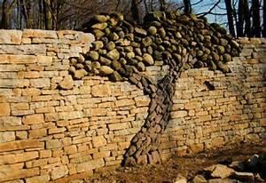 Steine Für Trockenmauer : gartenmauer als gestaltungselement freshouse ~ Michelbontemps.com Haus und Dekorationen