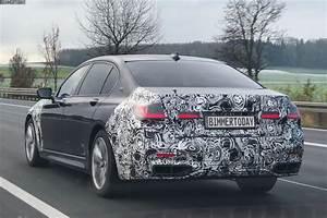 2019 BMW 7 Series Facelift: Spy photos show the design updates