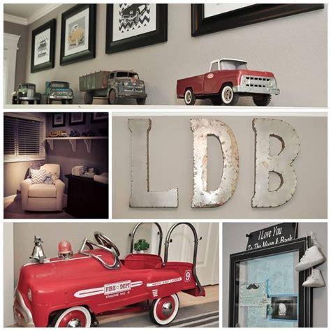 Vintage Car Baby Boy Nursery