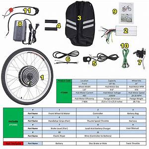 26 U0026quot  Front Wheel Electric Bicycle Motor Kit E