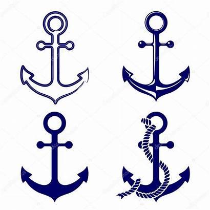 Anchor Vector Symbols Clipart Nautical Illustration Rope