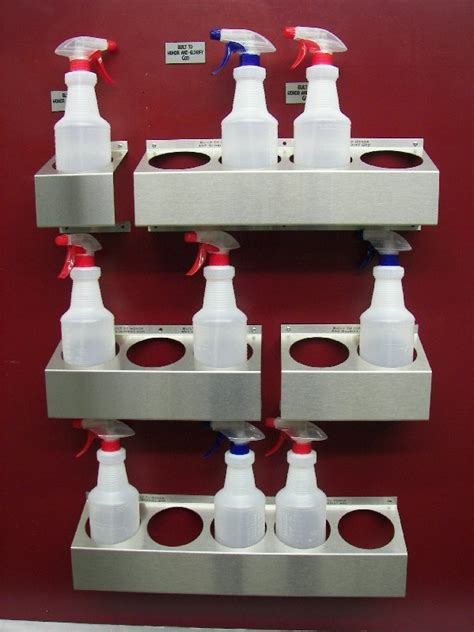 spray bottle rack stainless steel spray bottle holders new york ny san