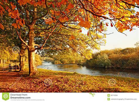 Schöner Garten Im Herbst by Sch 246 Ner Herbst Im Park Lizenzfreie Stockfotos Bild 26713258