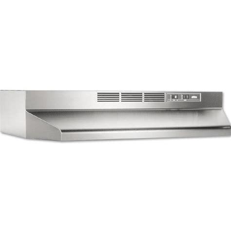 broan ape130ss cabinet range shop broan undercabinet range stainless steel black