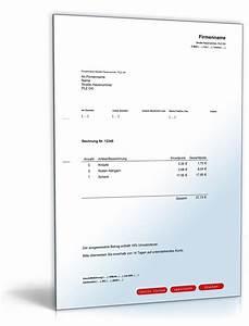 Rechnung Bitte Englisch : kleinbetragsrechnung muster zum download ~ Themetempest.com Abrechnung
