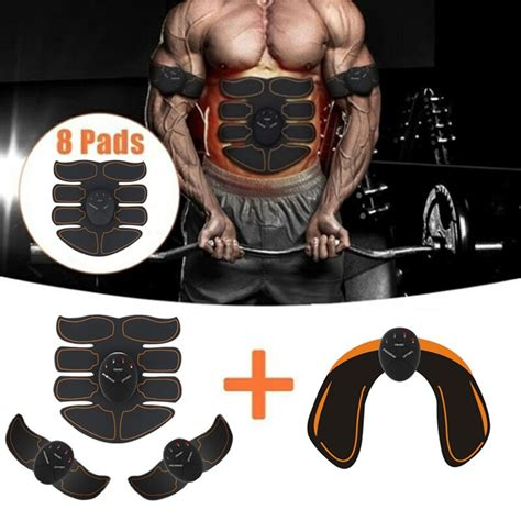 6 Mode Smart Electric muscle stimulator Abdominal ABS ems