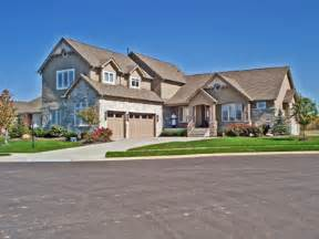 4 bedroom 4000 sf home 2 story craftsman style stone