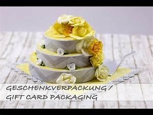 Gift Card Holder / Geschenkverpackung #Lieblingsblumen ...