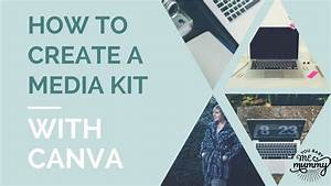 How to create a media kit in canva how to use canva canva tutorial how to make a media kit for Media kit canva