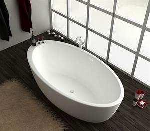Freistehende Badewanne Mineralguss : freistehende badewanne aus mineralguss kzoao 1487 badewelt ~ Michelbontemps.com Haus und Dekorationen