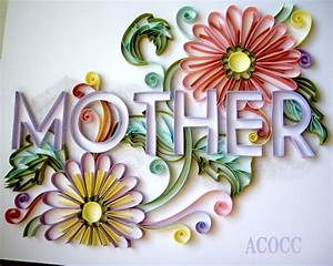 A Can of Crafty Curiosities: Quilling for Mother's day..