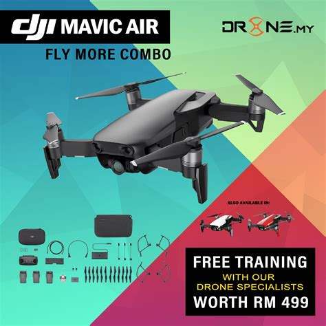 mavic air fly  combo dronemy
