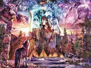 Indian and Wolf Wallpaper Images - WallpaperSafari