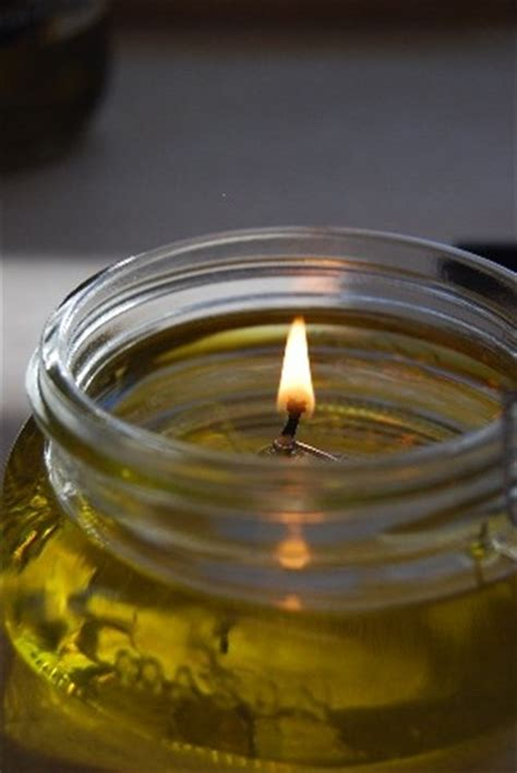 cool homemade olive oil candles easy diy  crafts