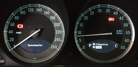 260 Kmh In Mph by Changing From Mph To Kph Speedometer Needle Goes Out