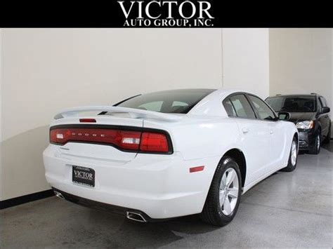 Purchase Used 2012 Dodge Charger White 292 Hp 17 Inch