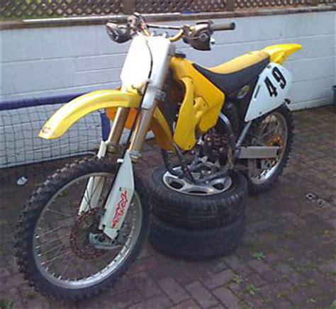 second hand motocross bikes uk 1999 suzuki rm 250 specs motorrad bild idee