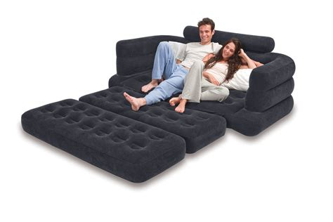 Air Mattress Sofa Bed Sleeper by Intex Pull Out Sofa Bed 76 Quot X 91
