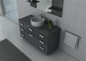 Meuble Vasque Sur Pied : meuble de salle de bain simple vasque ref imperial gt ~ Teatrodelosmanantiales.com Idées de Décoration