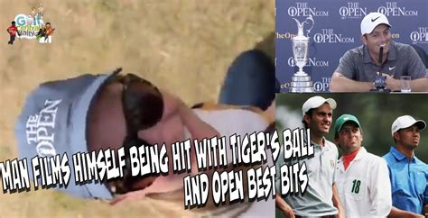 Video: Fan Films Himself Being Hit By Tiger Woods Ball At ...