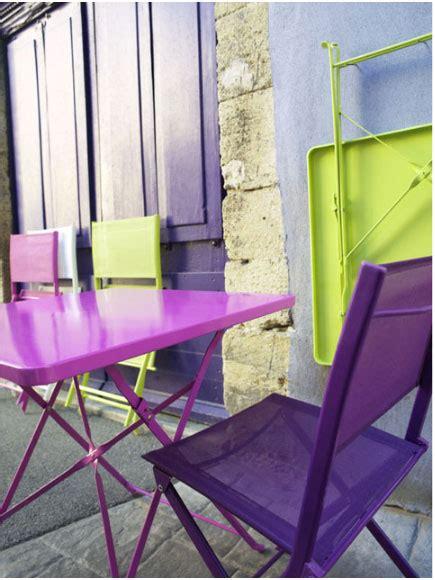 table chaise jardin pliante serie papaya castorama
