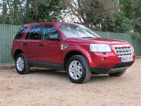 land rover freelander used red land rover freelander 2 for sale dorset