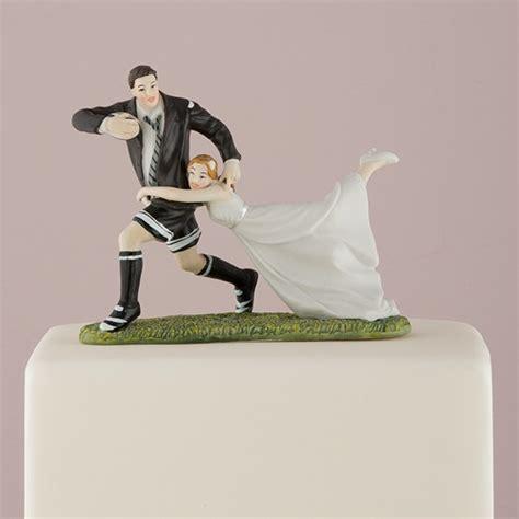 love tackle bride groom cake topper  knot shop